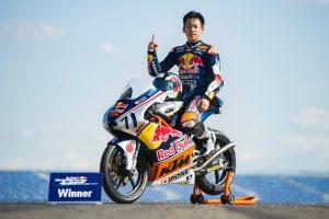 Ayumu Sasaki, Red Bull Rookies Cup Race 2, Aragon MotoGP 2016